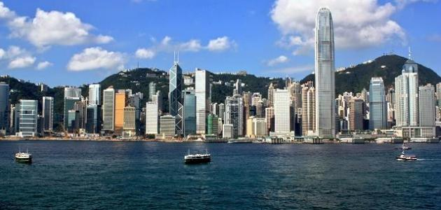 أين تقع هونغ كونغ