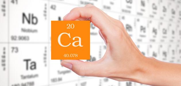 ما هو عنصر رمزه CA