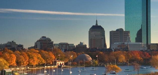 أين تقع بوسطن