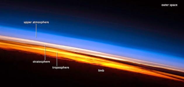 ما هي مميزات طبقات الغلاف الجوي