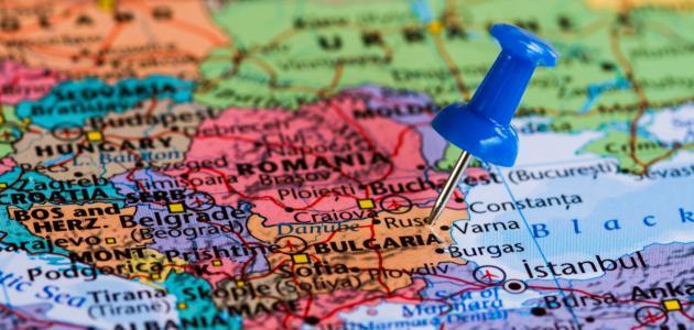 أين تقع بلغاريا