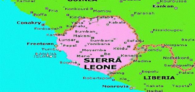 أين تقع سيراليون