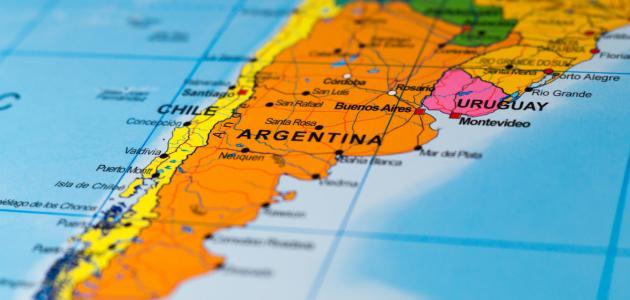 أين تقع الأرجنتين