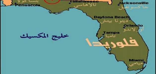 أين تقع فلوريدا