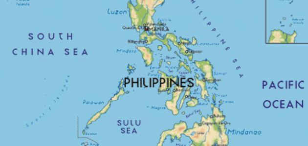 أين تقع الفلبين