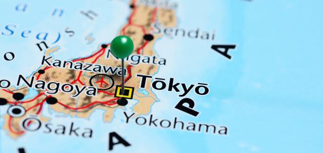 أين تقع طوكيو