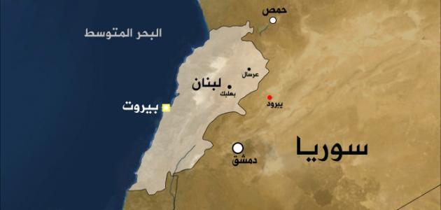 أين تقع لبنان