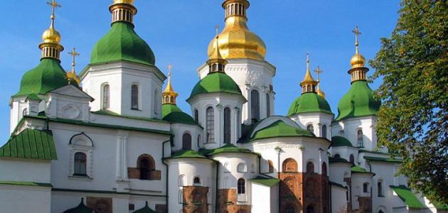 أين تقع كييف