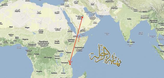 أين تقع تنزانيا