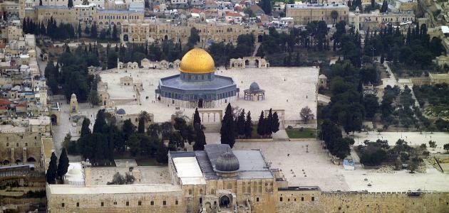 أين يقع المسجد الأقصى
