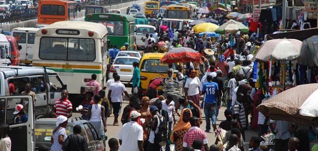 أين تقع غانا