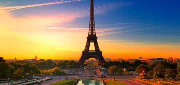 أين تقع باريس