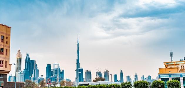 أين يقع برج خليفة موضوع