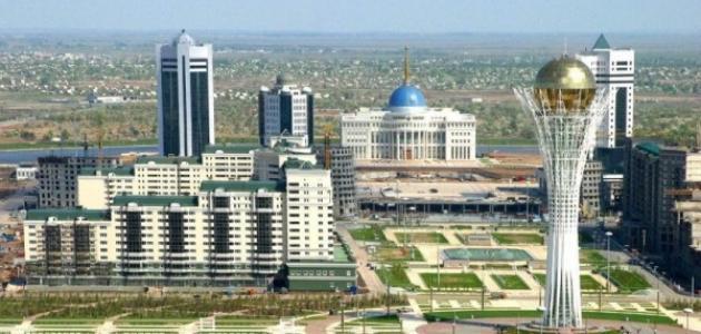 أين تقع كازاخستان