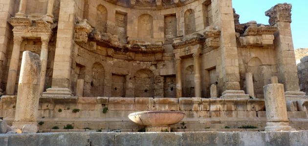 آثار مدينة جرش