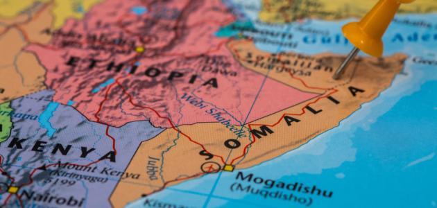 أين تقع الصومال