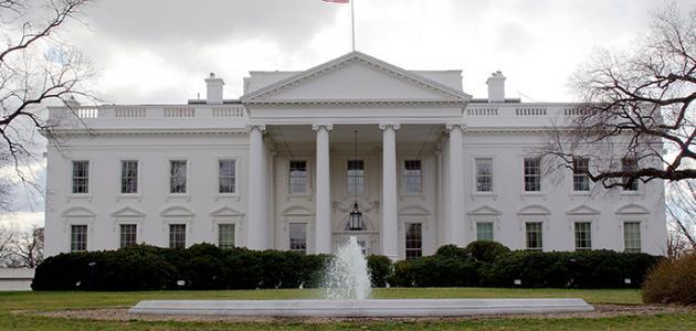 أين يقع البيت الأبيض