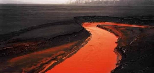 أين يقع النهر الأحمر