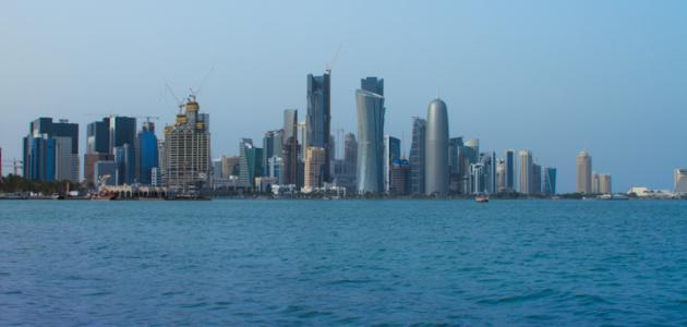 أين تقع الدوحة