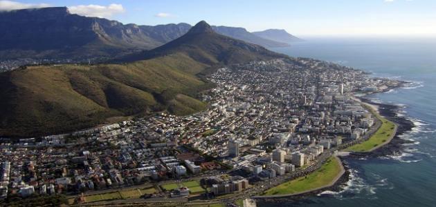أين تقع جنوب أفريقيا