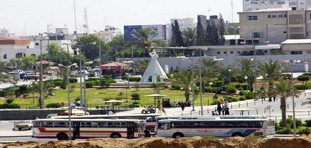 أين تقع غزة