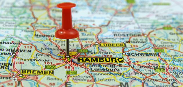 أين تقع هامبورغ