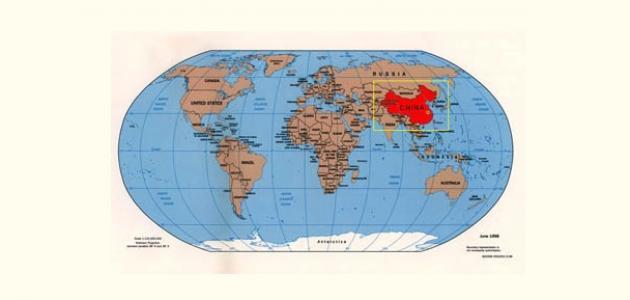 أين تقع قارة آسيا