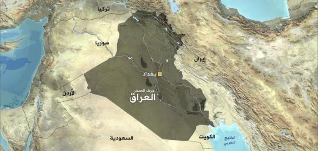 أين يقع العراق
