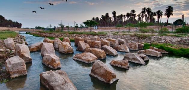 أين يقع وادي حنيفة - موضوع