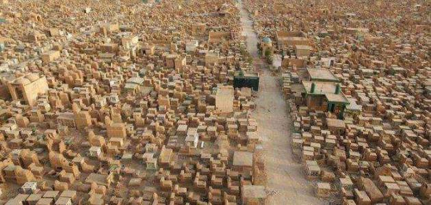 أين توجد أكبر مقبرة في العالم