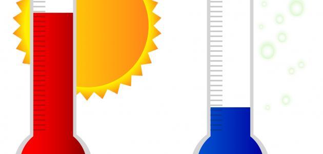 ما هي وحدة قياس درجة الحرارة