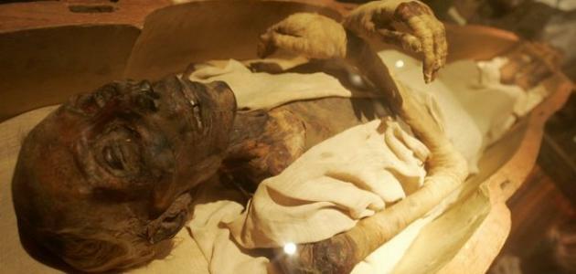 أين توجد جثة فرعون