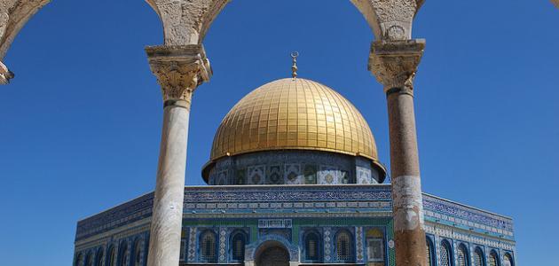 أين يوجد مسجد قبة الصخرة