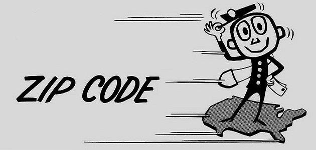 ما هو zip code