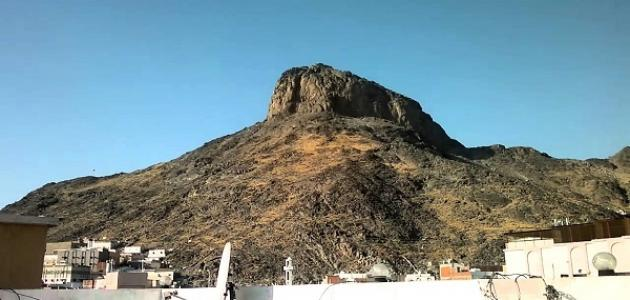أين يقع جبل النور