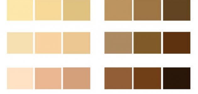 كيفية معرفة لون البشرة