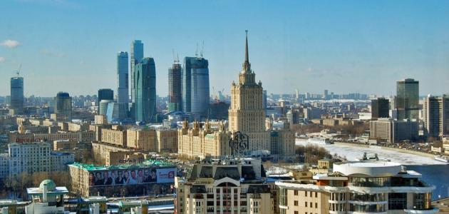 أين توجد موسكو