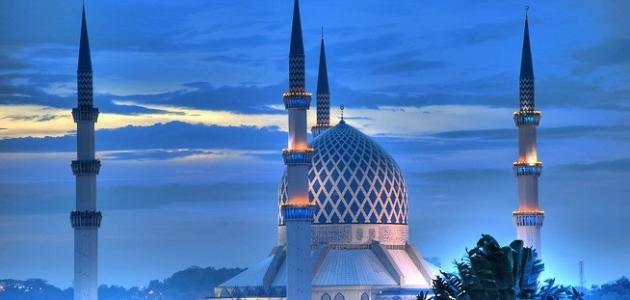 أين يقع المسجد الأزرق