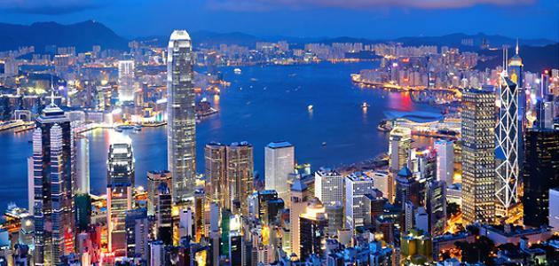 أين توجد هونج كونج