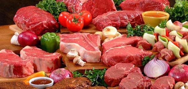 أين توجد البروتينات في الطعام