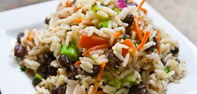 كيفية طبخ سلطة الأرز