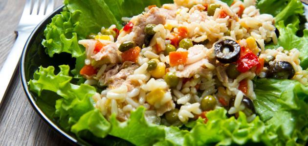 كيفية إعداد سلطة الأرز
