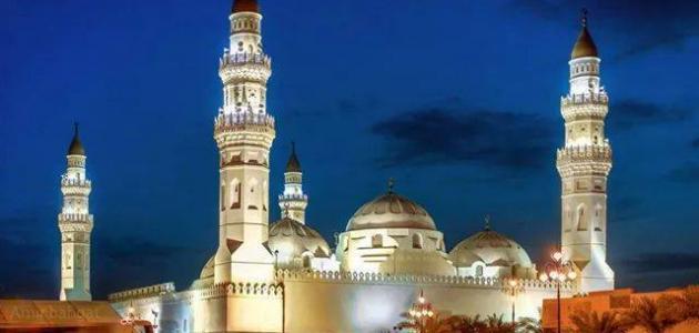 موقع مسجد قباء