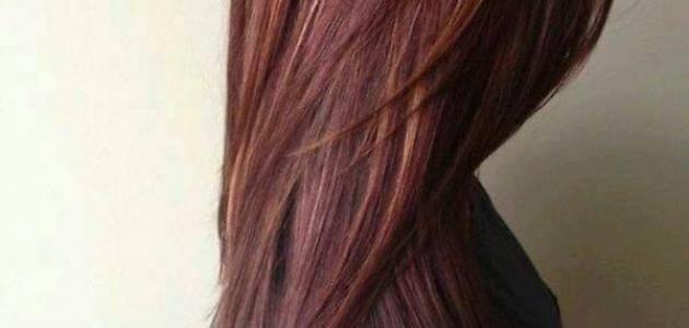 كيف أتخلص من لون الشعر الاحمر