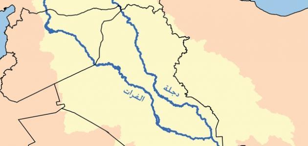 من أين ينبع نهر دجلة والفرات