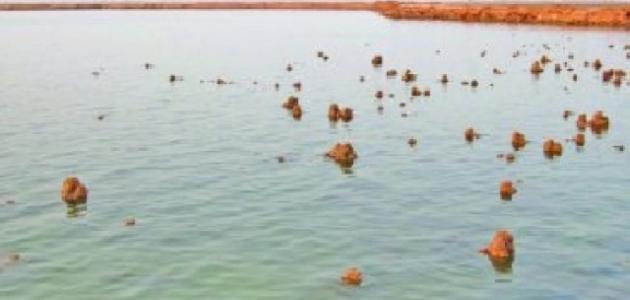 أين تقع بحيرة ساوة