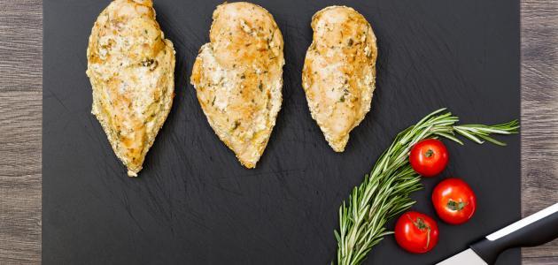 طريقة صدور الدجاج بالفرن