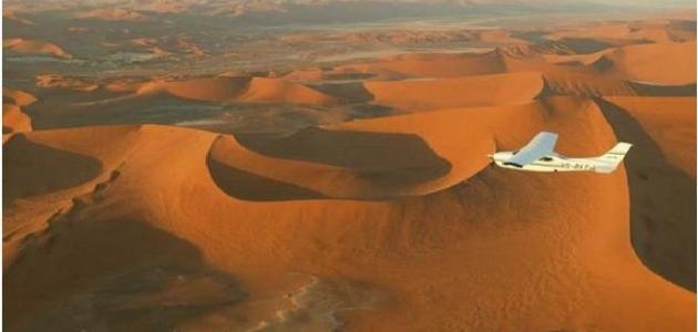 أين تقع صحراء كلهاري