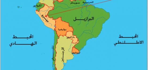 أين تقع التشيلي