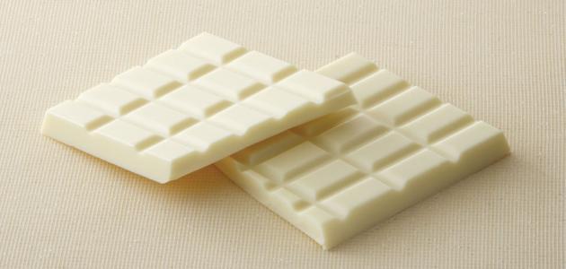 طريقة تذويب الشوكولاته البيضاء